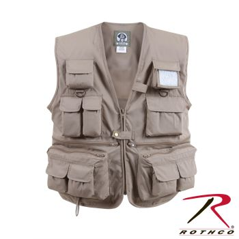 Rothco 7547 7547 Uncle Milty Khaki Travel Vest
