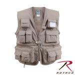 Rothco 7547 7547 Uncle Milty Khaki Travel Vest