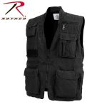 Rothco 7579 7579 Black Deluxe Safari Outback Vest