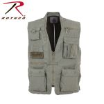 Rothco 7582 7582 7580 Olive Drab Deluxe Safari Outback Vest