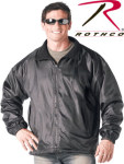 Rothco 7607 7607 Rothco Nylon Polar Fleece Reversible Jacket - Black
