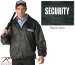 Rothco 7611 7611 Rothco Security Reversible Nylon/Polar Fleece Jacket