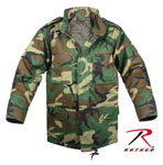 Rothco 7660 Kid's Woodland Camo M-65 Field Jacket