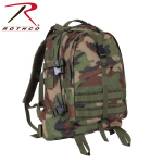 Rothco 7684 Rothco Large Transport Pack - Woodland Camo