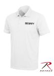Rothco 7695 7695 White Security Printed Golf Shirt