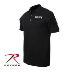 Rothco 7699 7699 7698 Black Law Enforcement Printed Golf Shirts