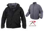 Rothco 7704 7704 Rothco All Weather 3 In 1 Jacket - Black