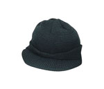Rothco 7708 Genuine GI Black Wool Jeep Cap