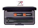 Rothco 770 Mini Maglite Black