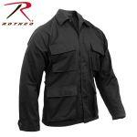Rothco 7774 7970 Rothco Black B.D.U. Shirt