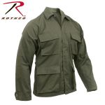 Rothco 7832 7837 Ultra Forcetm Olive Drab Poly/Cotton B.D.U. Shirts
