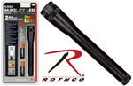Rothco 784 Mini Maglite Led 2cell Aa Flashlight