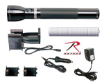 Rothco 788 Mag Charger Rechargeable Flashlight - System #1