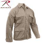 Rothco 7902 7902 Rothco Poly/Cotton Khaki B.D.U. Shirts