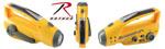 Rothco 80003 Rothco Solar Flashlight With Radio