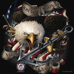 Rothco 80316 80316 Black Ink - US Navy Eagle T-Shirt