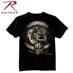 Rothco 80332 80332 80330 Black Ink - USMC Bulldog T-Shirt