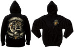 Rothco 80334 80334 Black Ink USMC Bulldog 2-Sided Hooded Pullover Sweatshirt