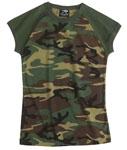 Rothco 8034 Women's Woodland S/S Raglan T-Shirt