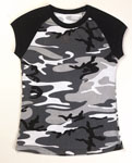 Rothco 8036 Women's City Camo S/S Raglan T-Shirt