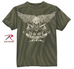 Rothco 80386 80386 Black Ink USMC Death Before Dishonor T-Shirt