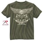 Rothco 80386 80386 Black Ink USMC Death Before Dishonor T-Shirt