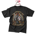 Rothco 80435 Black Ink ''put On The Whole Armor Of God'' T-Shirt