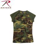 Rothco 8044 8044 Women's Woodland S/S Raglan T-Shirt