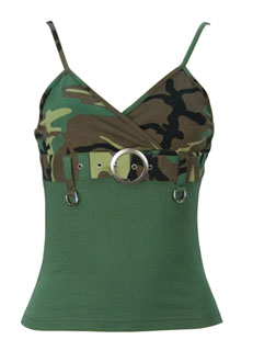 Rothco 8068 Womens Woodland 2-Tone Tank Top w/Buckle