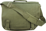 Rothco 8119 Rothco Canvas European School Bag - Olive Drab