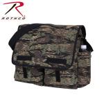 Rothco 8215 Hw Canvas Classic Messenger Bag - Smokey Branch