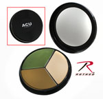 Rothco 8217 Face Paint Compact / 3 Color ACU Camouflage