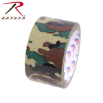 Rothco 8220 Duct Tape / 2'' X 10yds - Woodland Camo