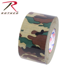 Rothco 8230 Duct Tape / 2'' X 60yds - Woodland Camo