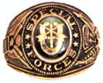 Rothco 825 Special Forces Deluxe Engraved Ring