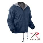 Rothco 8264 8264 Rothco Reversible Fleece Lined Nylon Jacket With Hood