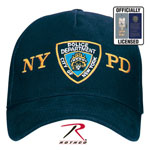 Rothco 8272 Officially Licensed Nypd Adjustable Cap With Emblem