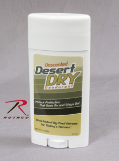 Rothco 8276 Desert Dry Deodorant-Unscented