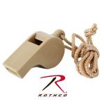 Rothco 8311 Rothco Gi Type Police Whistle - Desert Tan
