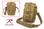 Rothco 8319 Flexipack Molle Tactical Shoulder Bag - Coyote