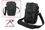 Rothco 8320 Flexipack Molle Tactical Shoulder Bag - Black