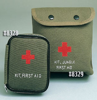 Rothco 8328 8328 Military Zipper First Aid Kit