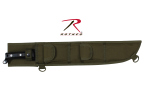 Rothco 836 Rothco 18'' Molle Compatible Machete Sheath-Blk