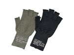 Rothco 8411 GI Wool Fingerless Glove-Black