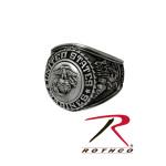 Rothco 843 Us Marine Corps Insignia Ring / Silver