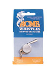 """Rothco 8455 """"Acme"""" Nickel Plated Thunderer Whistle"""