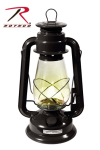 Rothco 845 Rothco Kerosene Lantern - Black / 12''