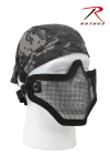 Rothco 847 Bravo Tac Gear Strike Steel Half Face Mask-Black