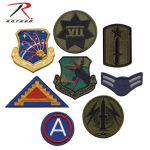 Rothco 8489 Assorted Military Patches (500)