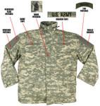 Rothco 8541 8541 Rothco M-65 Field Jacket w/Liner - ACU Digital Camo